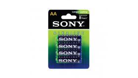 Sony AM3L-B4D Alkaline LR6-AA Stamina Alkaline green 4 pcs blister, AA