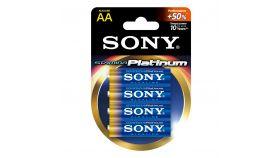 Sony AM3PT-B4D Alkaline R06 Stamina Platinum 4 pcs blister AA