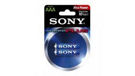 Sony AM4-B2D Alkaline LR03-AAA Stamina Plus 2pcs, AAA