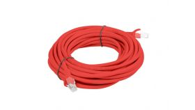 Lanberg patch cord CAT.6 5m, red