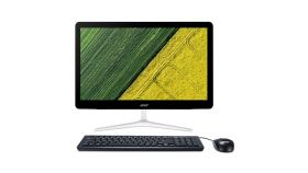 """Acer Aspire Z24-880 AiO, 23.8"""" FullHD (1920x1080) IPS Touch, Intel Core i7-7700T (up to 3.80GHz, 8MB), 8GB DDR4, 2TB HDD&16GB Intel Optane Memory M.2, DVD+RW&CardReader, NVIDIA GeForce 940MX 2GB, 802.11ac, Keyboard & Mouse, 135W, Free DOS"""