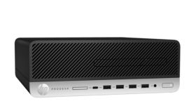HP ProDesk 600 G3 SFF 180W, Core i5-7500(3.4GHz, up to 3.8Ghz/6MB/4Cores), 4GB DDR4 2400Mhz, 500GB 7200rpm, DVDRW, HDMI port, Win 10 Pro 64bit, 3Y Warranty On-site