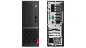 Lenovo V530S SFF Intel Core i3-9100 (3.6 up to 4.2GHz, 6MB), 8GB DDR4 2400MHz, 256GB SSD, Intel UHD Graphics 630, DVD, 7 in 1 Card reader, USB KB BUL, USB Mouse, DOS, 3Y