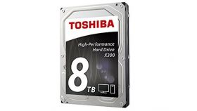 Toshiba X300 - High-Performance Hard Drive 8TB (7200rpm/128MB),BULK