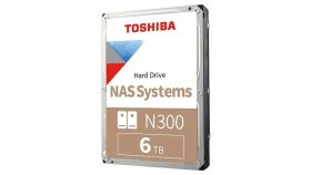 Toshiba N300 NAS - High-Reliability Hard Drive 6TB BULK
