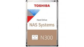 "Toshiba N300 NAS Hard Drive 8TB (7200rpm / 256MB) 3,5"" BULK"