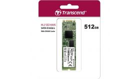 Transcend 512GB, M.2 2280 SSD, SATA3 B+M Key, TLC