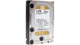 Western Digital Gold Datacenter HDD 2 TB - SATA 6Gb/s  7200 rpm 128MB