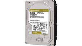 Western Digital Gold Datacenter HDD 6 TB - SATA 6Gb/s  7200 rpm 128MB