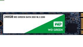 Western DigitalGreen 240GB M.2 SATA3