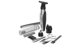 Wahl 05604-616 Lithium Battery Trimmer Kit, Lithium bat. trimmer, nose trimmer, nail file, nail clipper, toothbrush, tweezers, scissors, comb