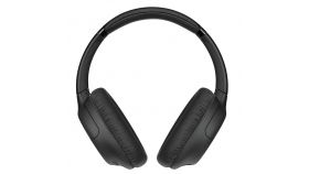 Sony Headset WH-CH710N, Bluetooth/NFC, Artificial Intelligence Noise Cancelling, Google/Siri voice assistant, black