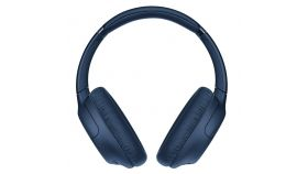 Sony Headset WH-CH710N, Bluetooth/NFC, Artificial Intelligence Noise Cancelling, Google/Siri voice assistant, blue