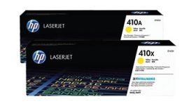 HP 410X High Yield Yellow Original LaserJet Cartridge (CF412X)