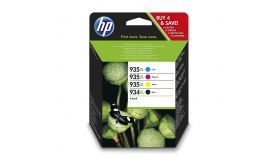 HP 934XL High Yield/935XL High Yield C/M/Y/K Original Ink Cartridge 4-pack