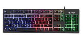 Fury Gaming Keyboard, Hellfire, Backlight, US Layout