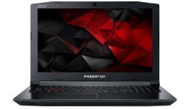 "Acer Predator Helios 300, PH315-51-72YF, Intel Core i7-8750H (up to 4.10GHz, 9MB), 15.6"" FullHD (1920x1080) 144Hz IPS AG, HD Cam, 8GB DDR4, 1TB HDD+256GB NVMe SSD, GTX1060 6GB GDDR5, 802.11ac, BT 4.2, MS Windows 10"