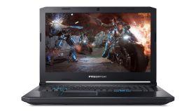 "Acer Predator Helios 500, PH517-51-97RR, Intel Core i9-8950HK (up to 4.80GHz, 12MB), 17.3"" FullHD (1920x1080) 144Hz IPS AG, HD Cam, 16GB DDR4, 1TB HDD+256GB NVMe SSD, GTX1070 8GB GDDR5, 802.11ac, BT 4.2, MS Windows 10"