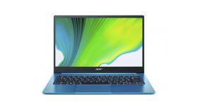 """Acer Swift 3, SF314-59-72KF, Core i7 1165G7 (up to 4.4GHz, 8MB), 14"""" IPS FullHD (1920x1080) Anti-Glare, HD Cam, 8GB DDR4 (on board), 1TB NVMe SSD, Intel Iris X Graphics, Wi-Fi 6 AX201, BT5.0, Backlit Keyboard, MS Win10 Pro, Aqua Blue"""