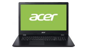 "Acer Aspire 3, A317-32-P61D, Intel Pentium Silver N5030 Quad-Core (up to 3.10GHz, 4MB), 17.3"" HD (1280x720) CineCrystal, 0.3MP Cam&Mic, 4GB DDR4 (1 slot free), 256GB PCIe SSD, Intel UMA Graphics, Linux, Black"