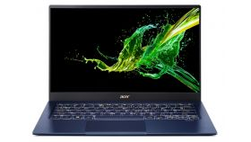 """Acer Swift 5 Pro, SF514-54GT-79WS, Intel Core i7-1065G7( up to 3.9Ghz, 8MB), 14.0"""" IPS FHD (1920x1080) Touch AG, HD Cam, 8GB DDR4, 512GB Intel PCIe SSD, MX350 2GB DDR5, (WiFiAX), BT, FPR, Backlit KBD, Win 10 PRO, Carcoal Blue"""