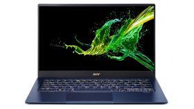 "Acer Swift 5 Pro, SF514-54GT-750R, Intel Core i7-1065G7( up to 3.9Ghz, 8MB), 14.0"" IPS FHD (1920x1080) Touch Glare, HD Cam, 16GB DDR4, 1ТB Intel PCIe SSD, MX250 2GB DDR5, (WiFiAX), BT, FPR, Backlit KBD, Win10 Pro, Blue"