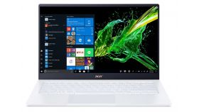 """Acer Swift 5 Pro, SF514-54GT-750R, Intel Core i7-1065G7( up to 3.9Ghz, 8MB), 14.0"""" IPS FHD (1920x1080) Touch Glare, HD Cam, 16GB DDR4, 1ТB Intel PCIe SSD, MX250 2GB DDR5, (WiFiAX), BT, FPR, Backlit KBD, Win10 Pro, White - очаквана доставка 20-06-2020 г."""