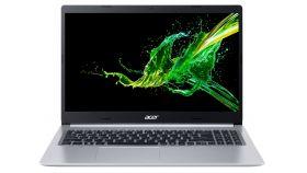 """Acer Aspire 5, A515-54G-57E6, Intel Core i5-10210U (up to 4.2Ghz, 6MB), 15.6"""" FHD IPS (1920x1080) AG, HD Cam, 8GB DDR4 (4GB onboard ), 512GB SSD PCIe + HDD cage free, nVidia GeForce MX350 2GB GDDR5, FPR, WiFi 6 AX, BT, Linux, 1.8kg, Silver"""