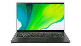 """Acer Swift 5 Pro, SF514-55GT-79GL, Intel Core i7-1165G7 (up to 4.4GHz, 8MB), 14.0"""" IPS FHD (1920x1080) Touch AG Antibacterial, HD Cam, 16GB DDR4, 1TB Intel PCIe SSD, MX350 2GB DDR5, (WiFiAX), BT, FPR, Backlit KBD, Win 10 PRO, Manager Green"""