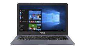 """Asus N580GD-E4109, Intel Core i7-8750H ( up to 4.1 GHz, 9MB), 15.6"""" FHD (1920x1080) AG, 8192MB DDR4, HDD 1TB 2.5"""" 5400rpm + SATA3 256G M.2 SSD, NVIDIA GeForce GTX1050 GDDR5 4GB, FPR, Illum. Kbd, Linux, Grey Metal"""