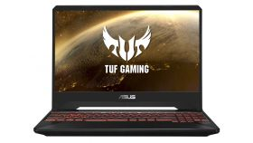 "Asus TUF Gaming FX505GE-AL382, Intel Core i7-8750H (up to 4.1 GHz, 9MB), 15.6"" 120Hz FHD, (1920x1080) IPS AG, 16GB DDR4 2666MHz, PCIE NVME 512G M.2 SSD, NVIDIA GeForce GTX1050Ti 4GB GDDR5, 802.11ac, BT 4.1, Illum. Kbd, no OS, Black"