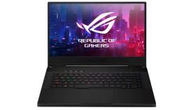 "Asus ROG Zephyrus M GU502GV-AZ064T, Intel i7-9750H 2.6GHz (12M Cache, up to 4.5GHz), 15.6"" FHD IPS AG (1920x1080)240Hz, 16GB DDR4 on board 1 slot free, PCIE NVME 512G M.2 SSD, NVIDIA GeForce RTX 2060 6GB GDDR6,4 Zone RGB Kbd, Win10"
