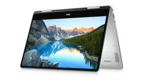 """Dell Inspiron 7386, Intel Core i5-8265U (6MB Cache, up to 3.9 GHz), 13.3"""" FHD (1920x1080) IPS Touch, HD Cam, 8GB On board 2400MHz DDR4, 256GB M.2 PCIe NVMe SSD, Intel UHD 620, 802.11ac, BT, Backlit KBD, MS Win10, Silver"""