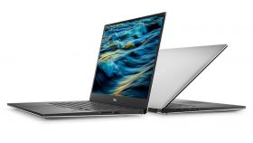 """Dell XPS 15 9570, Intel Core i7-8750H Processor (up to 4.1 GHz, 9MB), 15.6"""" FHD (1920 x 1080) InfinityEdge IPS AG, HD Cam, 8GB (2x4) 2666MHz DDR4, 128GB M.2 PCIe NVMe SSD + 1TB, NVIDIA GeForce GTX 1050Ti with 4GB GDDR5, 802.11ac, BT, MS Win10, Silver"""