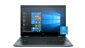 "HP Spectre x360 15-df1049na Poseidon Blue, Core i7-10510U(1.8Ghz, up to 4.9GHz/8MB/4C), 15.6"" UHD IPS UWVA AG Touch with Privacy, 16GB 2400Mhz 2DIMM, 1TB PCIe SSD, No Optic, Nvidia GeForce MX250 2GB, Intel 6AX201 + BT 5.0, Backlit Kbd, 6Cell Batt, Wi"
