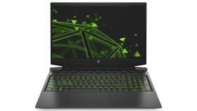 "HP Gaming Pavilion 16-a0006nu Black/Green,Core i7-10750H(2.6Ghz,up to 5GHz/12MB/6C),16.1""FHD UWVA AG IPS 300nits 144Hz,16GB 2933Mhz 2DIMM,256GB M.2 PCIe SSD+1TB 7200rpm,Nvidia GeForce RTX 2060 6GB with Max-Q, WiFi a/c+BT5, Backlit Kbd, 3C Batt LL,Fre"