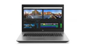 "HP ZBook 17 G5, Core i7-8850H(2.6GHz, up to 4.3GHz/9MB/6C), 17.3"" UHD UWVA DreamColor + WebCam, 32GB 2666Mhz 2DIMM, 2x512GB PCIe SSD+1TB 7200rpm, 9560 a/c + BT, NVIDIA Quadro P2000 4GB GDDR5, Blu-ray DVDRW, Backlit Kbd, NFC, FPR, 6C Long Life, Win 10"