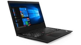"""Lenovo ThinkPad E480, Intel Core i3-8130U (1.2GHz up to 3.4GHz, 4MB), 4GB DDR4 2400MHz, 1TB HDD 5400 rpm, 14"""" FHD( 1920 x 1080), AG, IPS, Integrated Intel UHD Graphics 620 , WLAN AC, BT, FPR, 720p Cam, 3 cell, Win10 Pro, Black, 3Y Warranty"""
