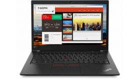 "Ultrabook Lenovo ThinkPad T480s,Intel Core i7-8550U(1.8GHz up to 4.0GHz,8MB),16(2x8)GB DDR4,512GB SSD NVMe,14"" FHD(1920x1080) IPS anti-glare,Intel UHD 620,dTPM 2.0, Smart CR,WWAN upgradable,Wireless AC,BT,FPR,1Gb Ethernet,USB 3.1 Type-C,ThinkShutter"