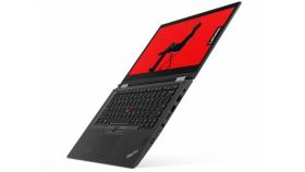 """Lenovo ThinkPad X380 Yoga, Intel Core i7-8550U (1.8GHz up to 4.0GHz, 8MB), 8GB DDR4 2400MHz, 256GB SSD m.2 PCIe NVME, 13.3"""" FHD (1920x1080), AR, IPS, Touch, Intel UHD Graphics 620, WLAN AC, BT, FPR, 720p Cam, Backlit KB, SCR, 4 cell, active pen, Win1"""