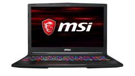"""MSI GE63 Raider 8RE RGB, i7-8750H (up to 4.10GHz, 9MB), 15.6"""" (1920x1080) Anti-Glare, 120Hz, 3ms, 94% NTSC, GTX 1060 6GB GDDR5, 16GB DDR4 (2x8), 256GB SSD, 1TB HDD 7200rpm, Intel AC 9560, Per-Key RGB KBD, Black"""