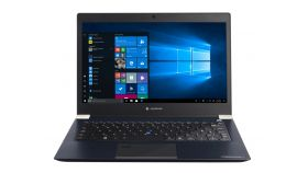 "Dynabook Toshiba Tecra X30-F-156, Intel Core i5-8250U(up to 3.40GHz, 6M), 13.3"" FHD AG, 8GB 2400MHz DDR4, 256GB SSD M.2, 0.9M HD Cam MICx2, BT,Intel 11ac+agn, Win10 Pro 64-bit, Backlit KBD, 3 cell Batt, Blue Black"