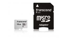 Transcend 16GB UHS-I U1 microSD with Adapter