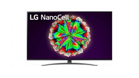 """LG 49NANO813NA, 49"""" 4K IPS HDR Smart Nano Cell TV, 3840x2160, 200Hz, DVB-T2/C/S2, Quad Core Processor 4K, Cinema HDR, webOS ThinQ, AI functions, FreeSync, WiFi 802.11.ac, Voice Controll, Bluetooth 5.0, Miracast / AirPlay 2, Crescent stand"""