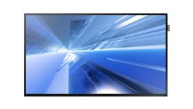 "Samsung LFD DM48E, 48"" D-LED BLU, 8ms, 5000:1, 450 nit, 1920 X 1080(FHD), D-SUB, DVI-D, Display Port 1.2, HDMI1 Component(CVBS Common), Bezel -  9.5 (Top/Side), 15.0 (Bottom), Embbeded, SBB"