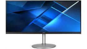 "Acer CB342CKCsmiiphuzx, 34"" IPS LED, Anti-Glare, ZeroFrame, FreeSync, HDR400, 1ms(VRB), 100M:1, 400 nits, 3440x1440 QHD, 75Hz, 2xHDMI, DP, Type-C(65W), Audio out, USB 3.0 Hub, Speakers 2x3W, Height adj., Tilt, Silver/Black"