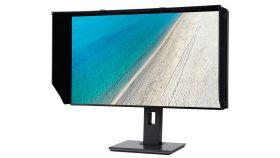 Acer ProDesigner PE270K, 27'', 3840x2160, IPS, Anti-Glare, HDR Xpert, 100% sRGB, FreeSync, 60Hz, 4ms, 100M:1, 350cd/m2, 2xHDMI, DP, Speakers 2x2W, Audio out , 4xUSB 3.0, 4-side ZeroFrame, ErgoStand, Black