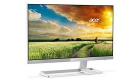 "Acer S277HKwmidpp, 27"" Wide IPS LED, 4ms, 100M:1 DCR, 300 cd/m2, 3840x2160 UltraHD, DVI, HDMI, DisplayPort, DTS Sound, Speakers, , Zero Frame, White"