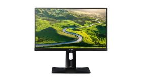 "Acer CB241HYbmdpr, 23.8"" Wide, 16:9, ZeroFrame, IPS LED, Anti-Glare, 4ms, 100M:1, 250 cd/m2, 1920x1080, VGA, DVI, DP, ErgoStand, TCO7.0, Black"