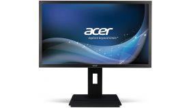 "Acer B246HYLAymidr, 23.8"" IPS LED, 5ms, 100M:1DCR, 250cd/m2, 1920x1080 FullHD, VGA, DVI, HDMI, Speakers, Height Adj., Pivot, VESA, Tilt, TCO7.0, Darkgrey, Acer EcoDisplay, 3Y"